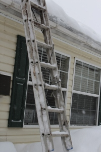 clearing the roof